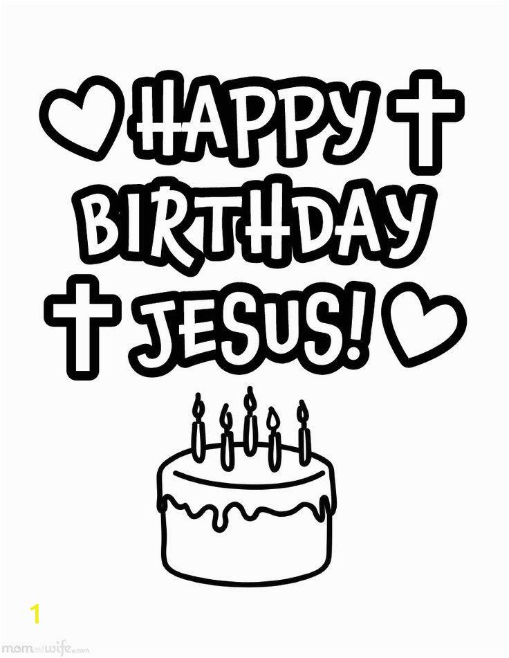 printable happy birthday jesus coloring sketch templates