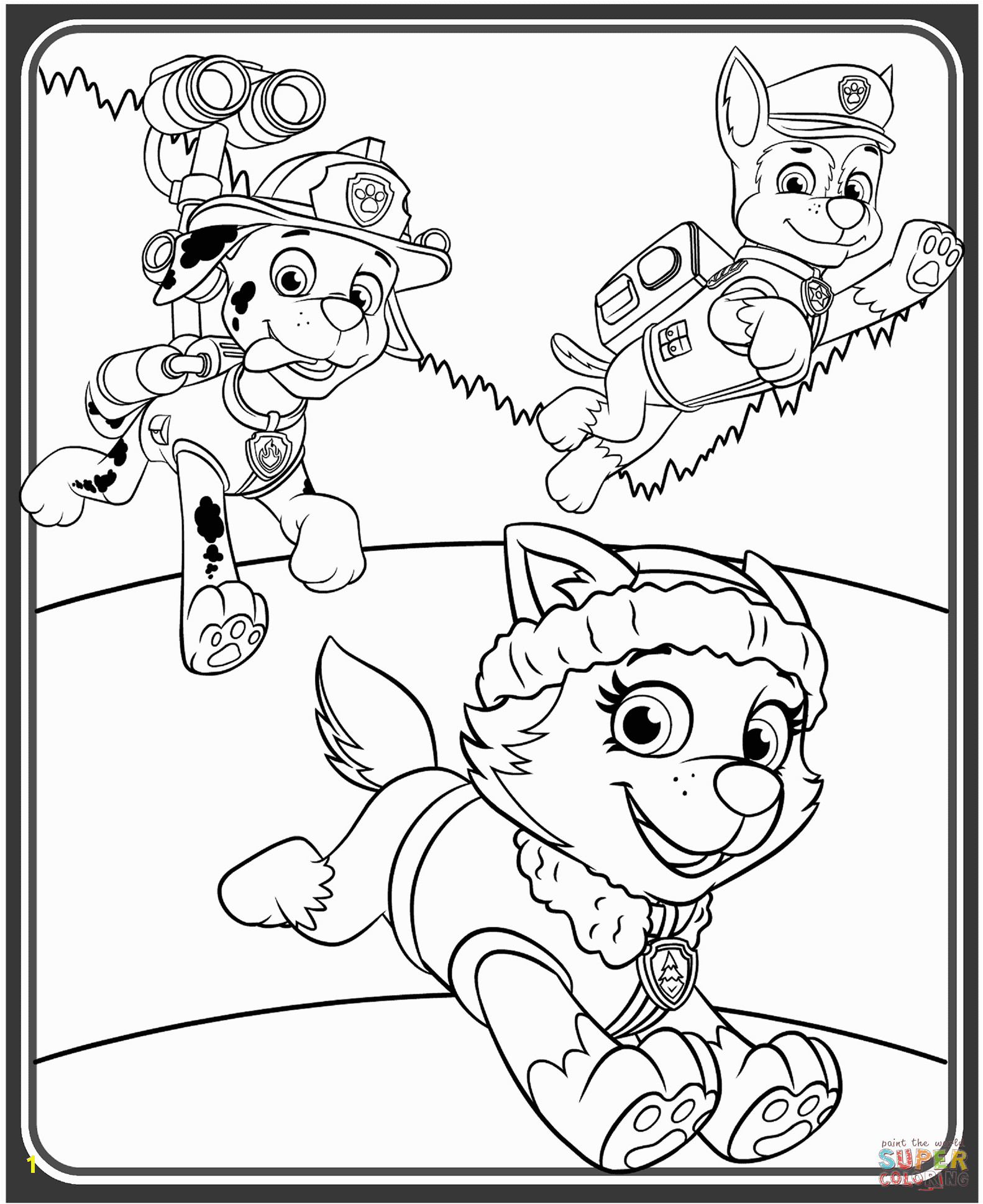 paw patrol birthday coloring pages 4 happy birthday world