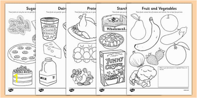 t sc 150 healthy eating colouring sheets