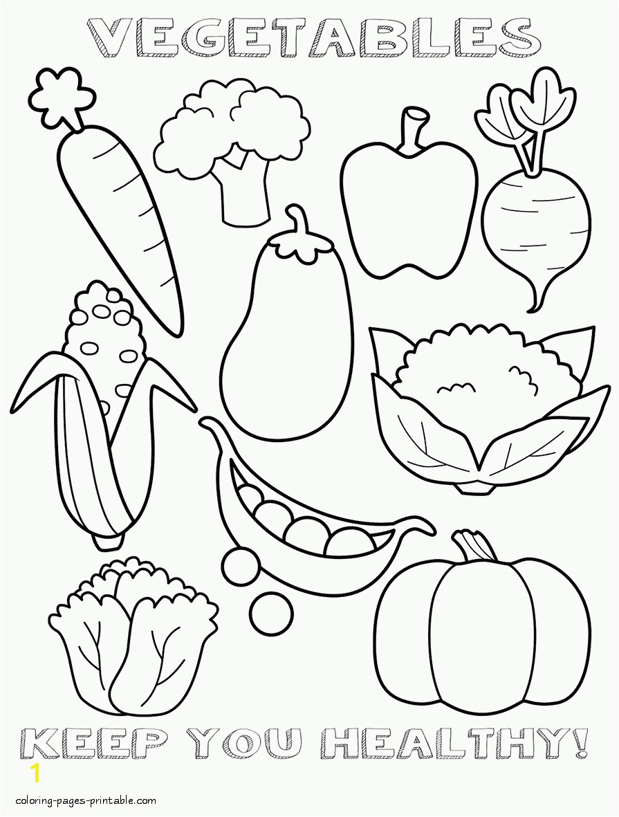 healthy food coloring pages id=31