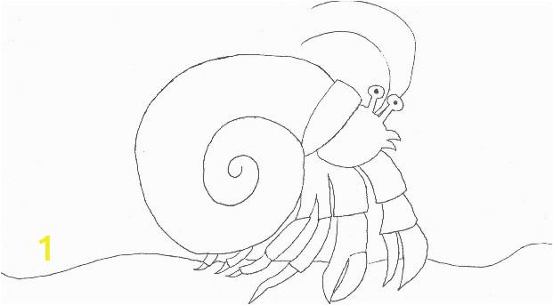 Hermit Crab clipart eric carle