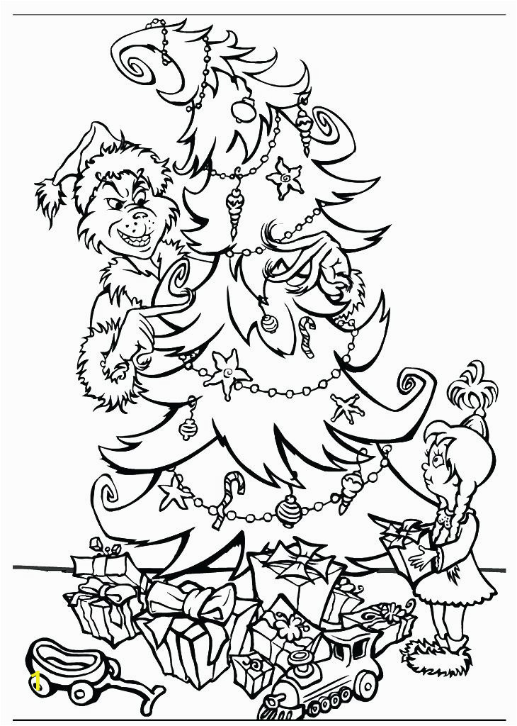 the grinch who stole christmas coloring pages
