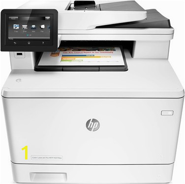 hp color laserjet pro mfp m477fdw a4 colour multifunction laser printer
