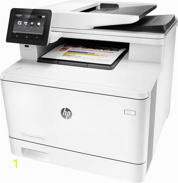 Hp Color Laserjet Pro Mfp M477fdw Cleaning Page Hp Color Laserjet Pro Mfp M477fdw Multifunctionele