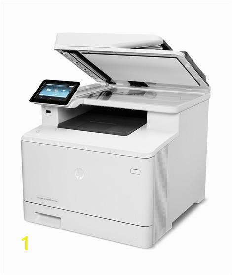 imprimante multifonction hp color laserjet pro m477fdw