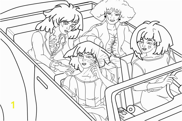 jem and holograms coloring pages