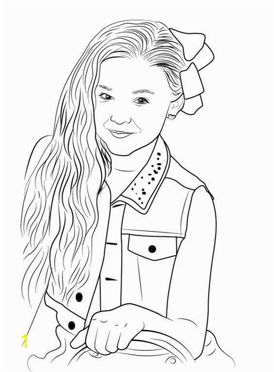 free jojo siwa coloring pages to print for kids pictures