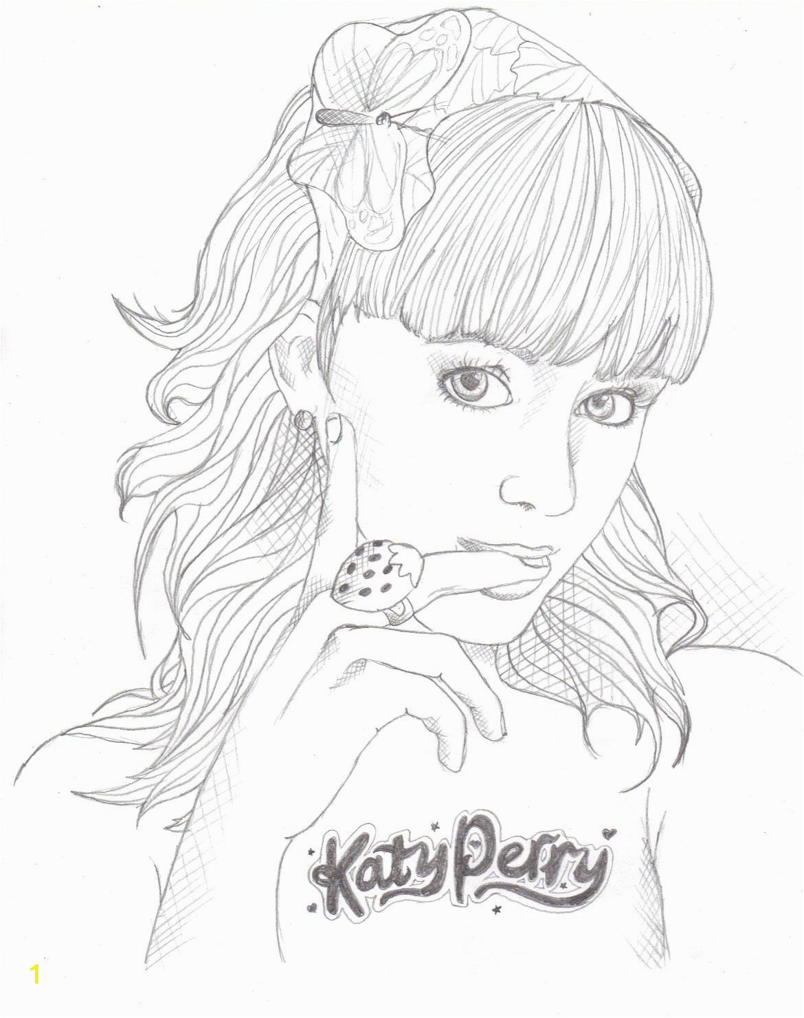 katy perry coloring pages sketch templates