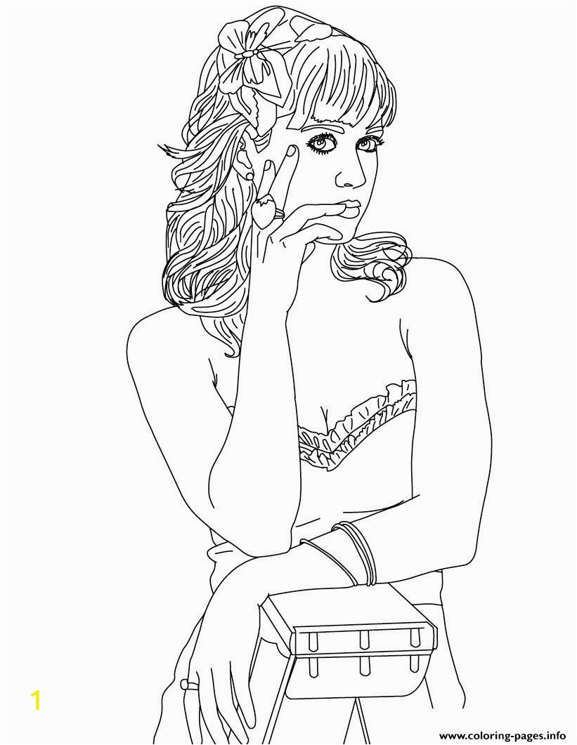 katy perry printable coloring pages book
