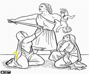 king solomon baby coloring page 7956