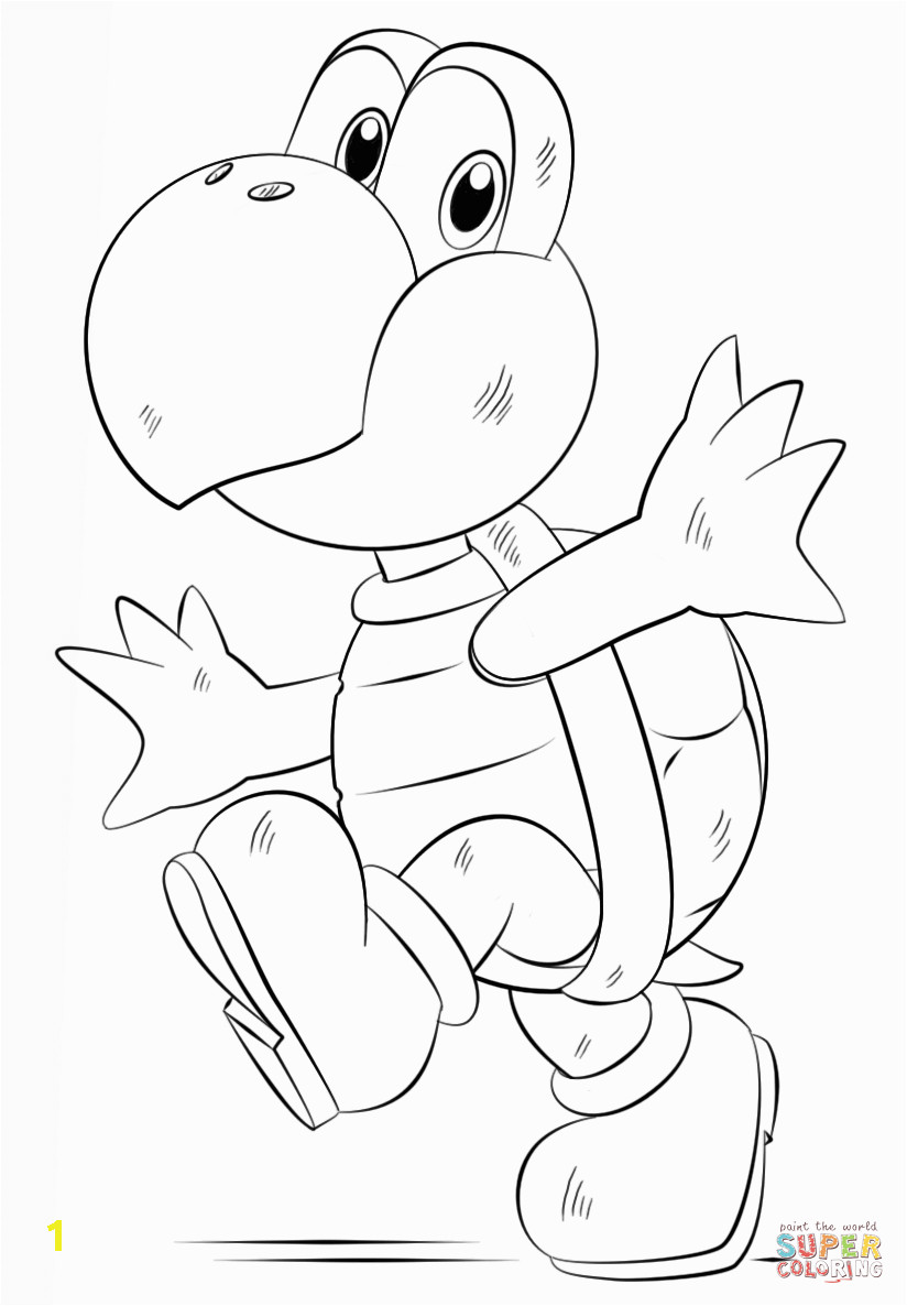 koopa kids coloring pages
