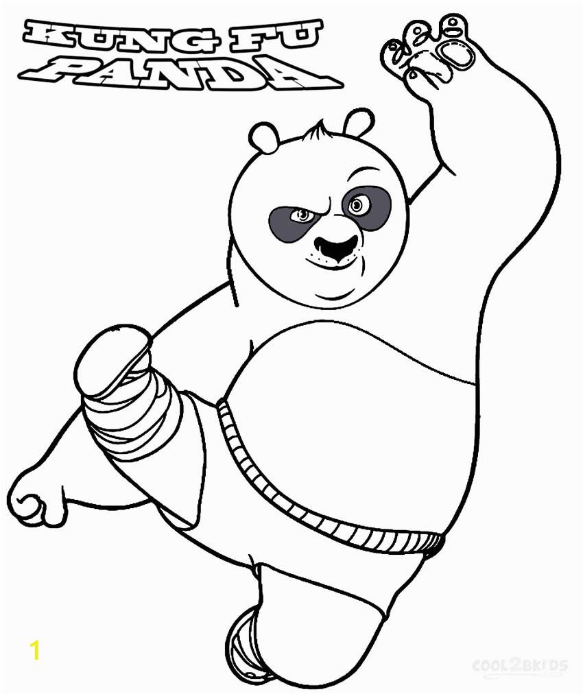 Kung Fu Panda Coloring Pages Free Printable Printable Kung Fu Panda Coloring Pages for Kids