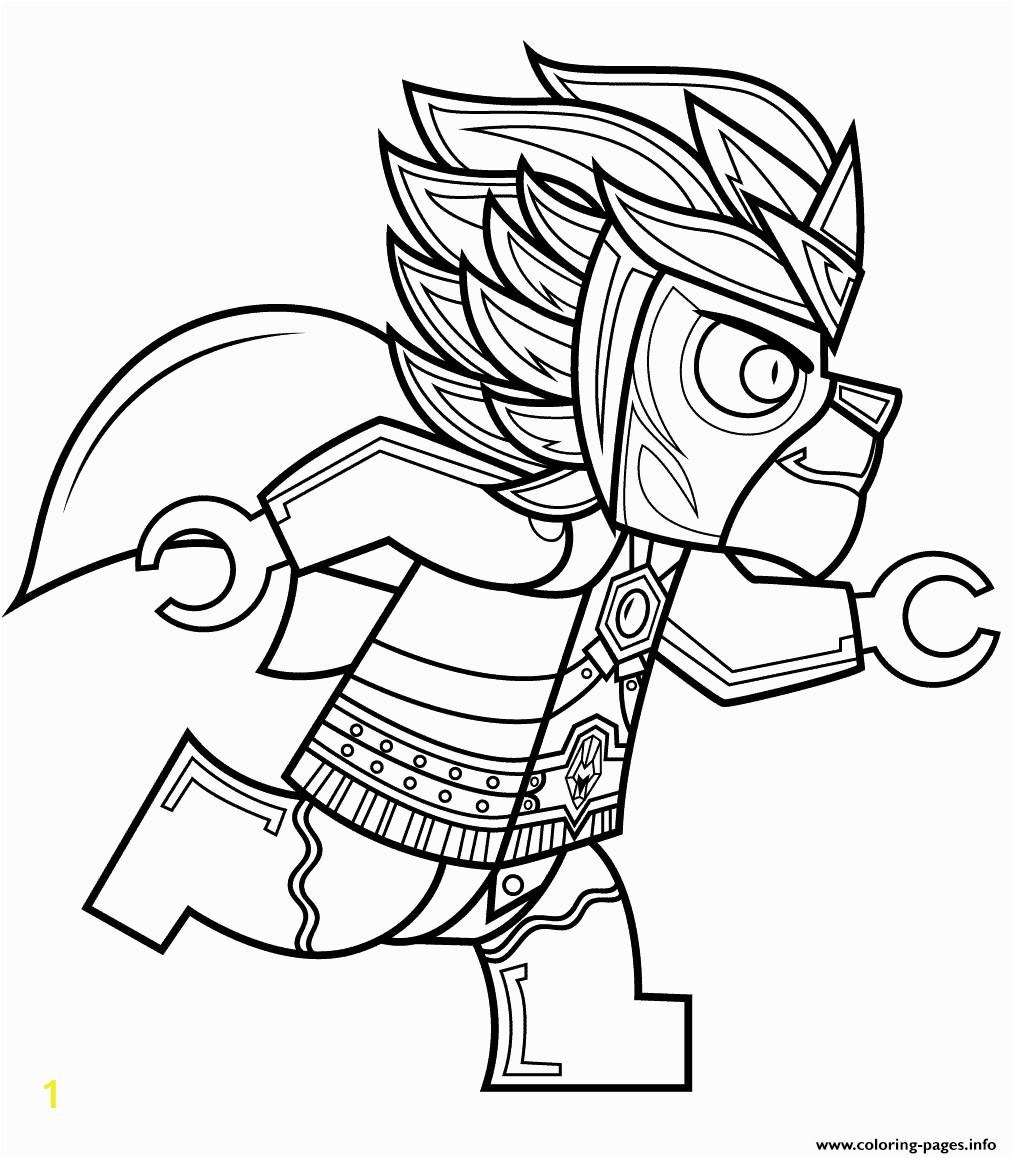 lego chima laval printable coloring pages book