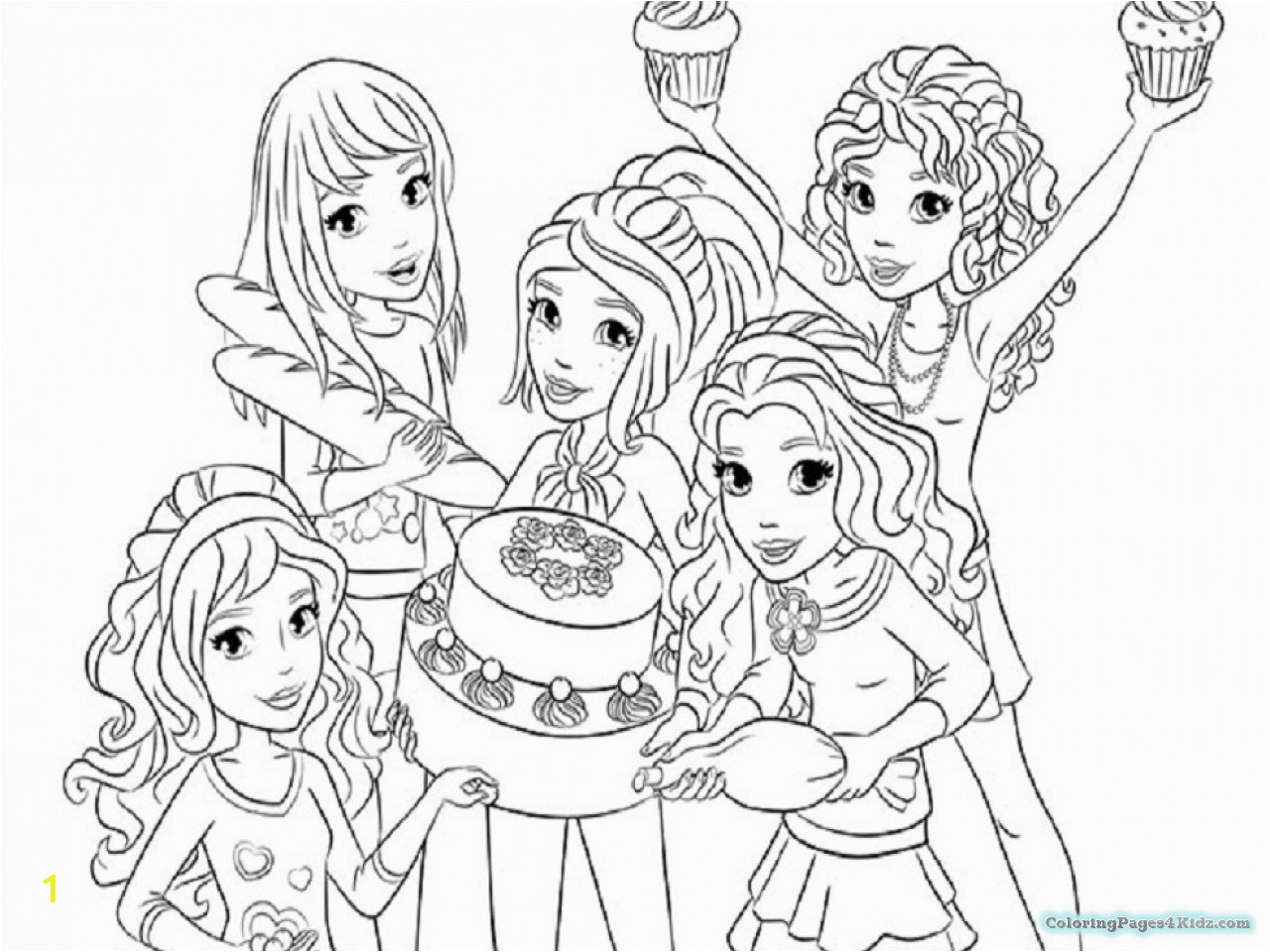 lego friends coloring pages 1021