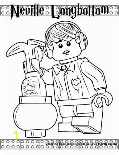 kolorowanki lego harry potter