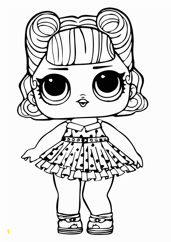Lol Surprise Dolls Free Printable Coloring Pages 30 Free Printable Lol Surprise Doll Coloring Pages