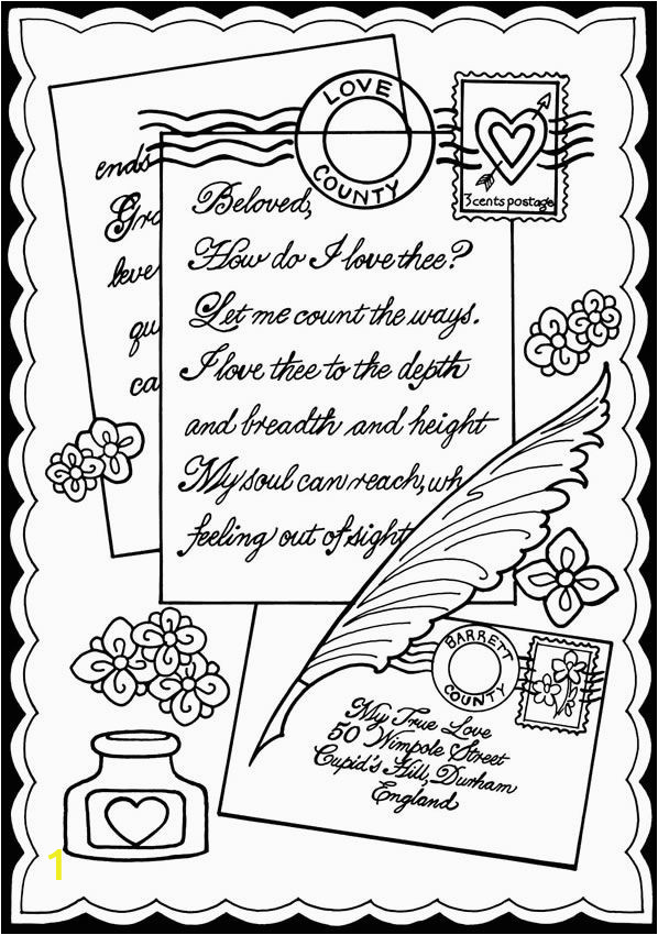 true love coloring pages