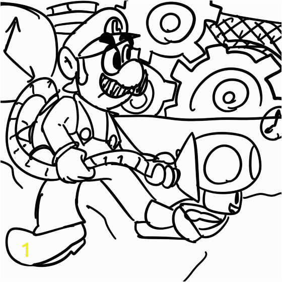 luigis mansion coloring pages sketch templates