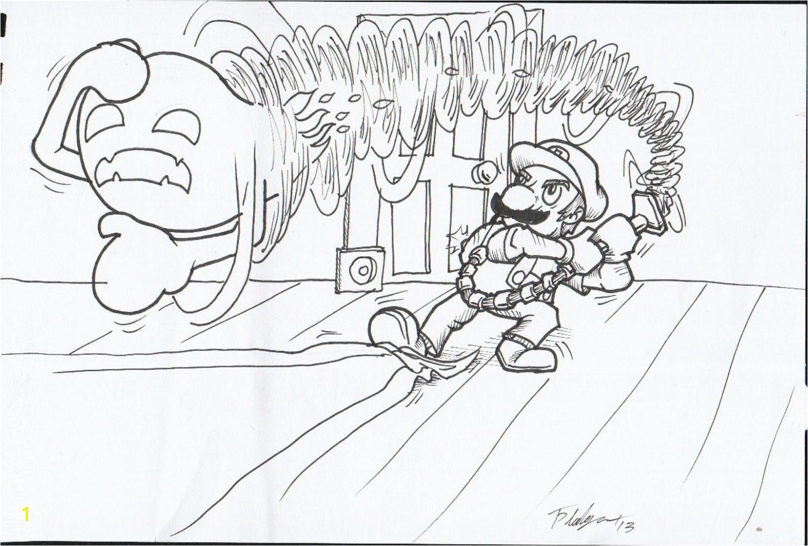 Luigi Mansion Dark Moon Coloring Pages Luigis Mansion Dark Moon Coloring Pages Coloring Pages