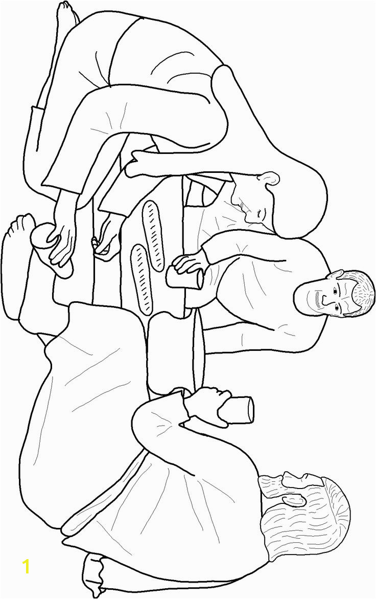 Mary Washes Jesus Feet Coloring Page Library Of Vector Royalty Free Stock Of Mary Washing Jesus