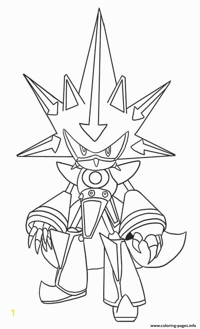 Metal sonic Coloring Pages to Print Metal Classic sonic Coloring Pages Printable