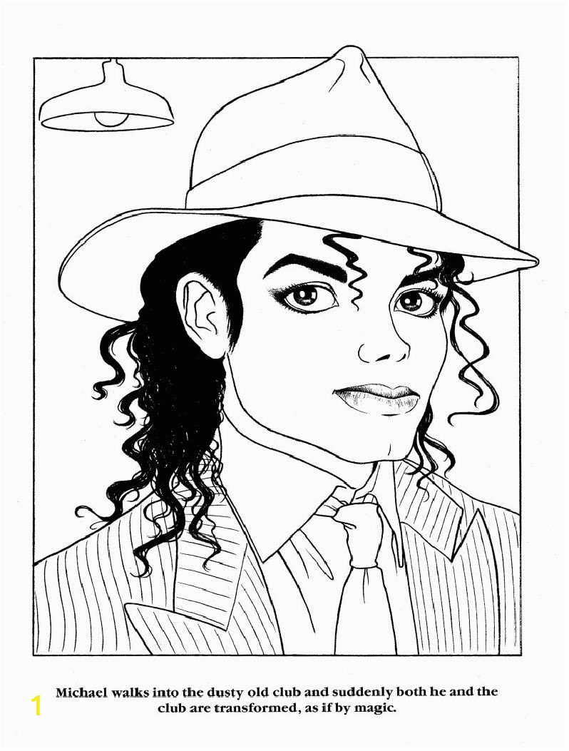 Michael Jackson Coloring Pages for Kids Pin On Moonwalker Color Book