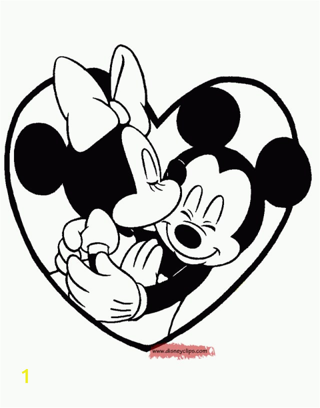 25 amazing picture of mickey and minnie coloring pages