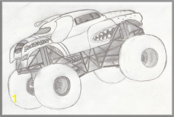 monster mutt monster truck coloring pages sketch templates