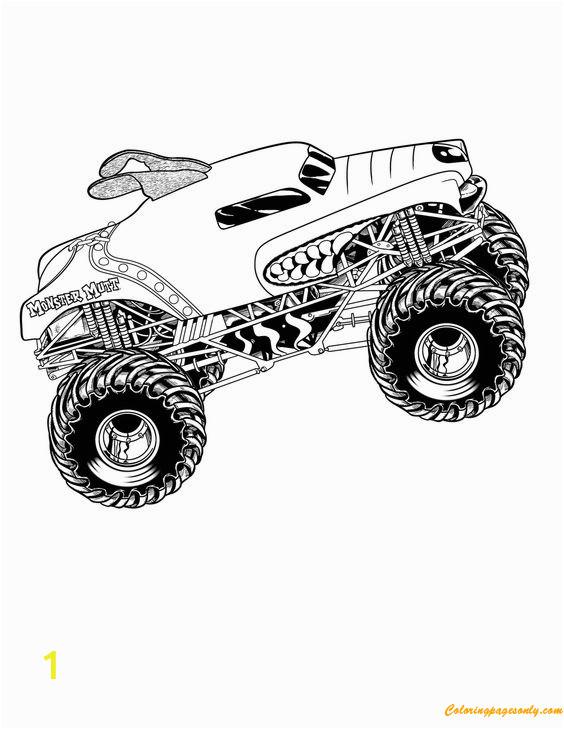 monster truck mutt