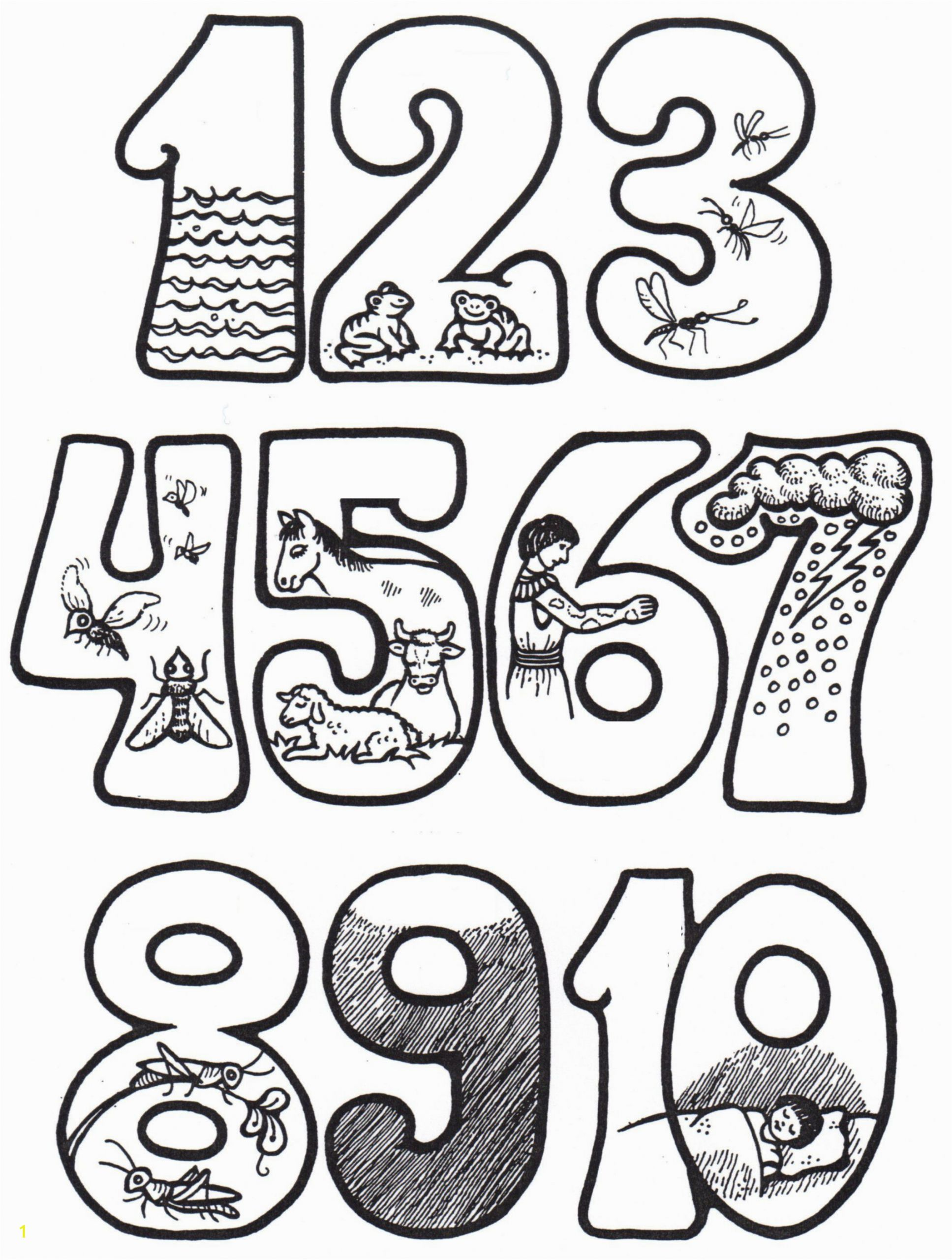 moses and the 10 plagues coloring pages