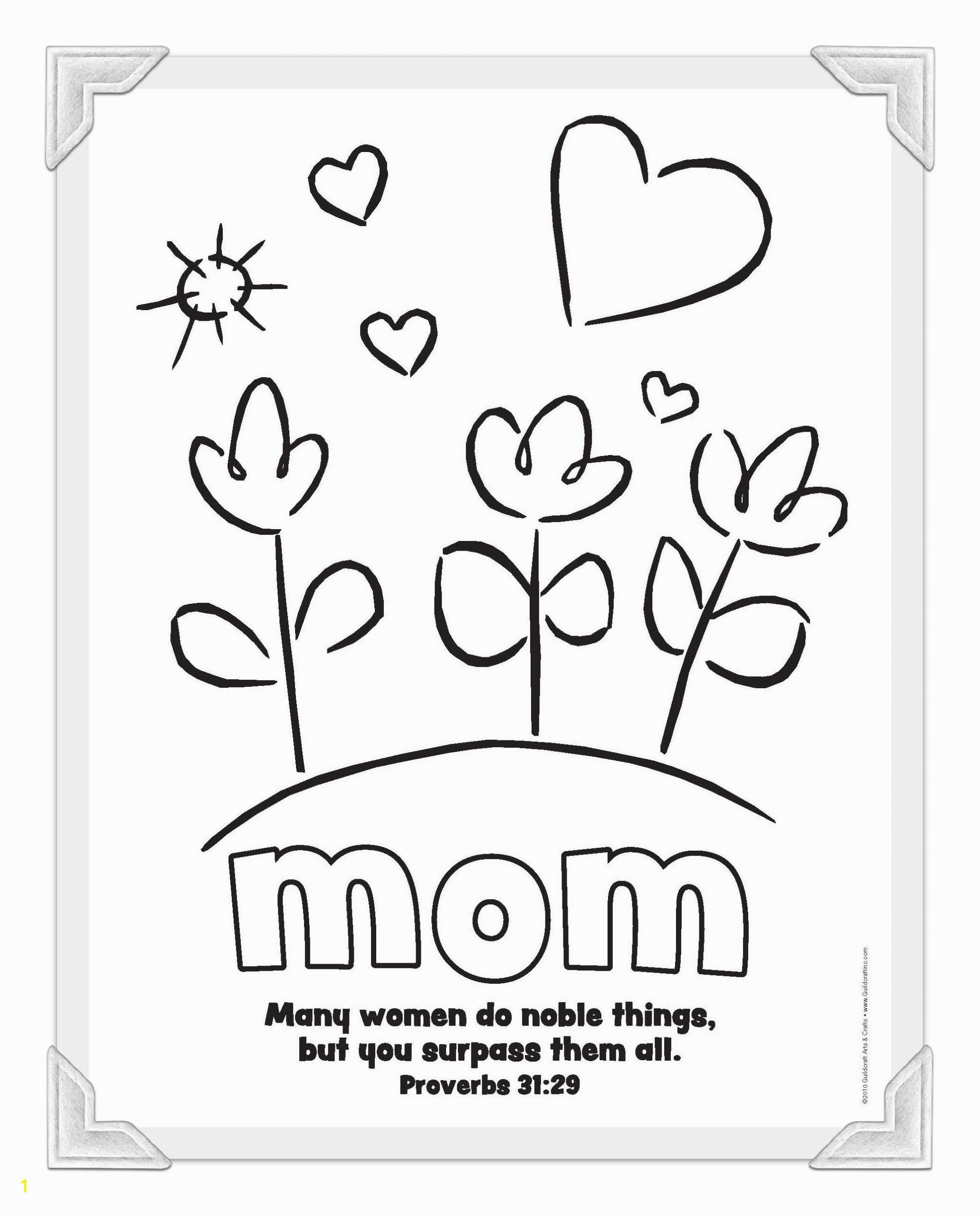 Mothers Day Coloring Page for Sunday School Printable Mother S Day Coloring Pages
