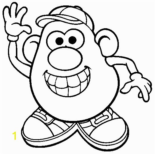 Mr Potato Head Printable Coloring Pages Mr Potatohead Coloring Page Print Mr Potatohead