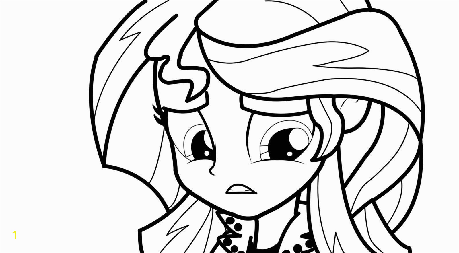 sunset shimmer pages sketch templates