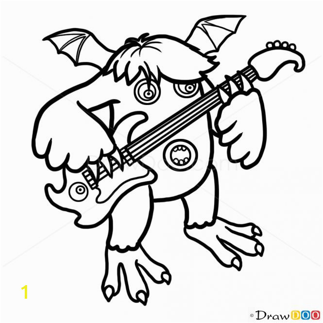 My Singing Monsters Printable Coloring Pages My Singing Monsters Coloring Pages Lovable My Singing