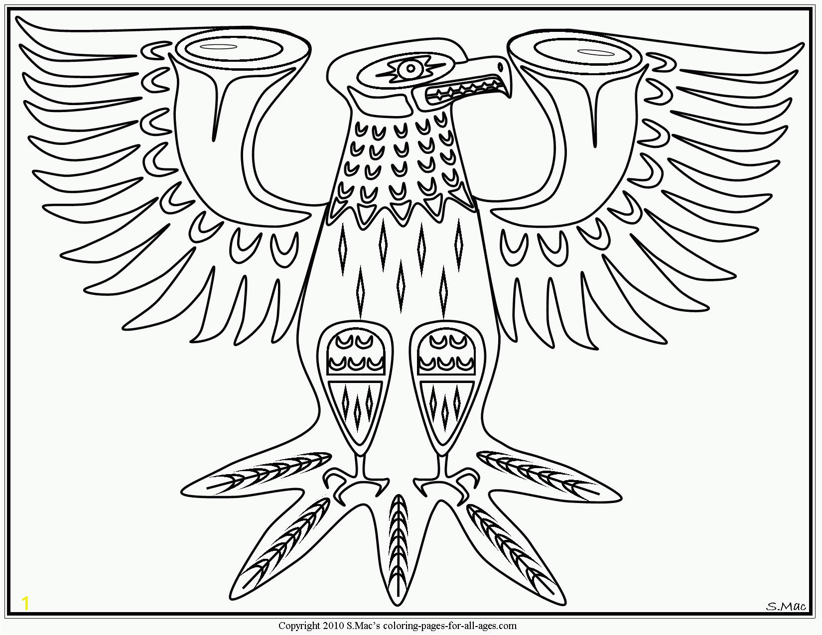 native american coloring pages for preschoolers
