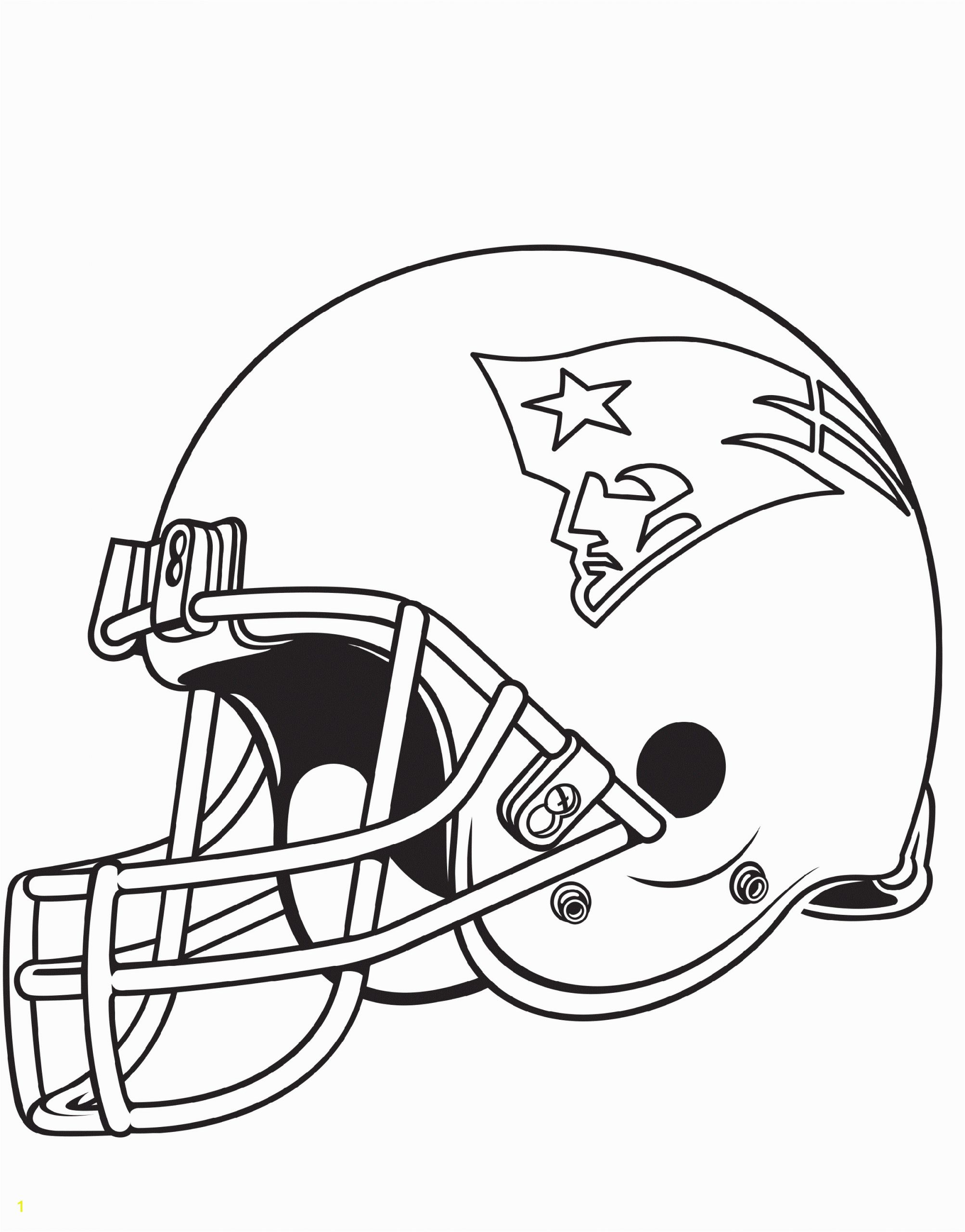 new england patriots coloring pages able