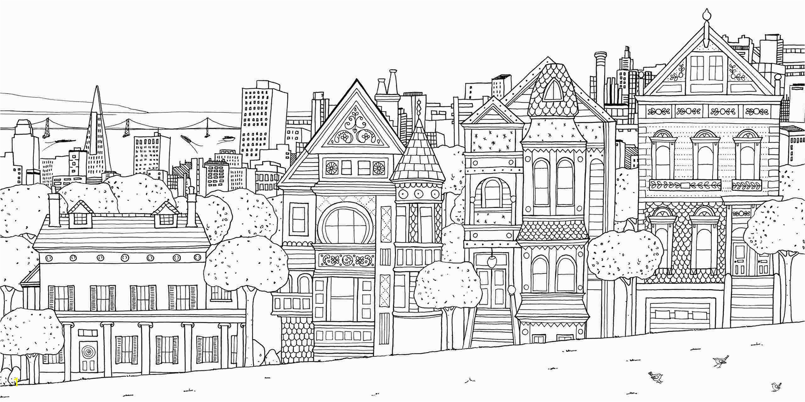 new york city coloring pages for kids