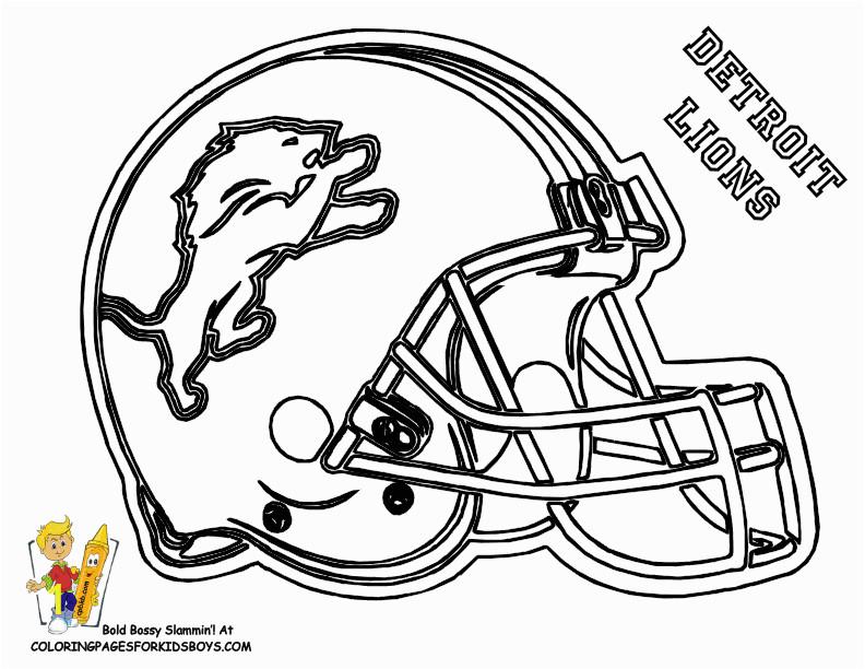 nfl helmet coloring page
