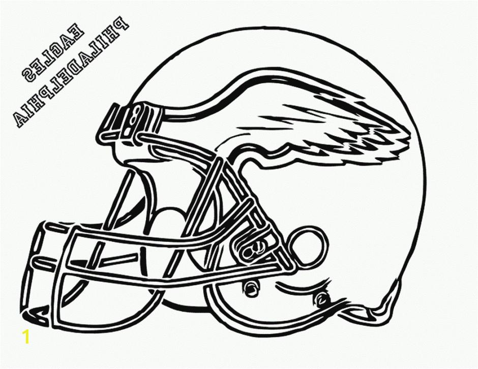 nfl helmet coloring pages