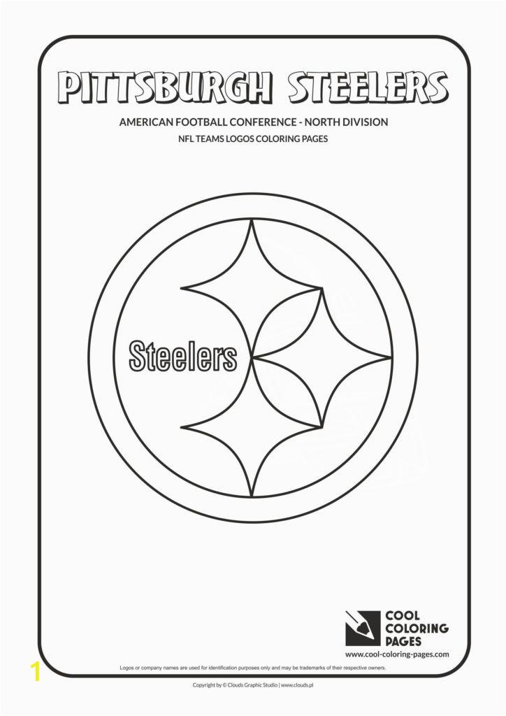 pittsburgh steelers nfl american football teams logos coloring pages