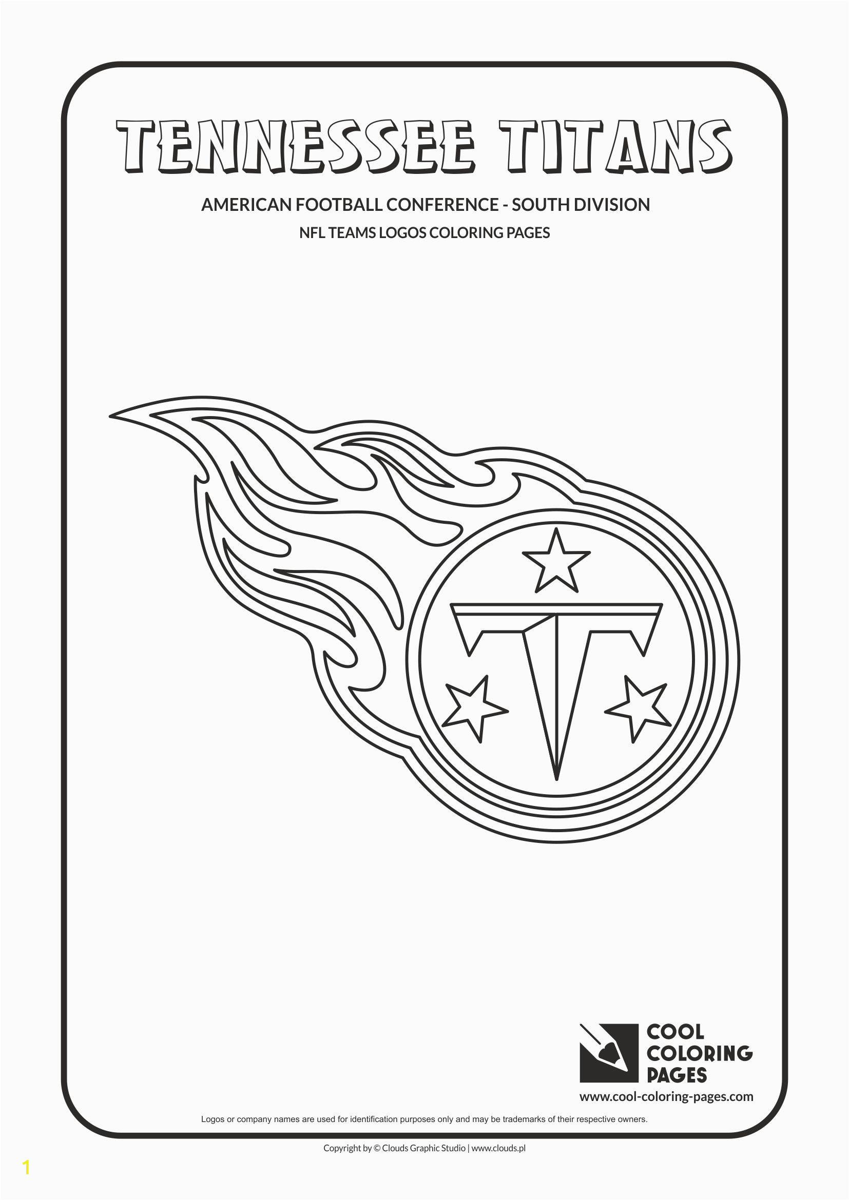 tennessee titans nfl american football teams logos coloring pages