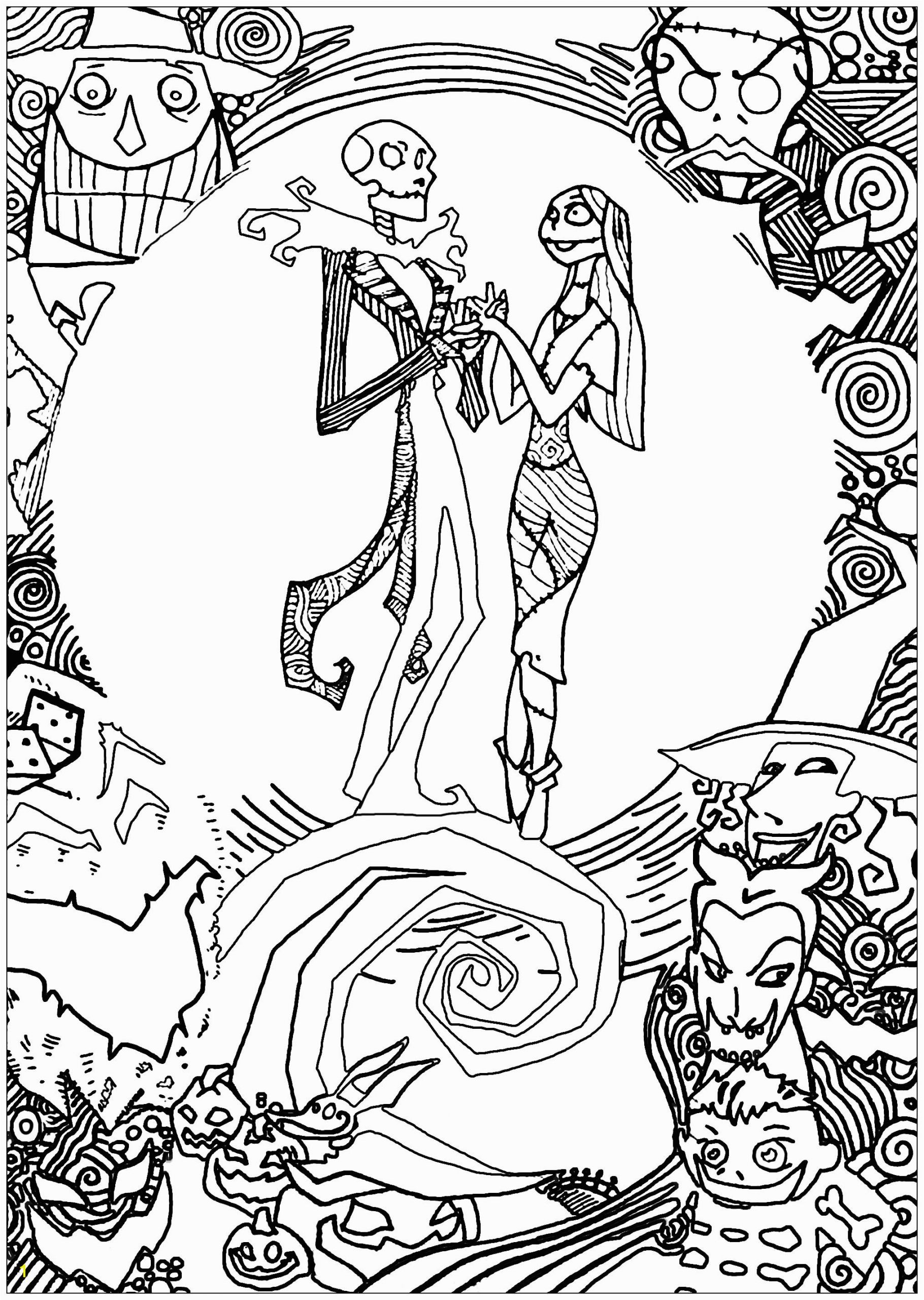 christmas adult coloring pages image=events christmas coloring page nighmare before christmas with sully 1