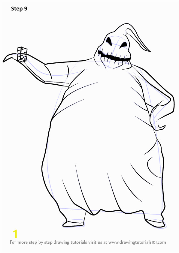 how to draw oogie boogie from the nightmare before christmas
