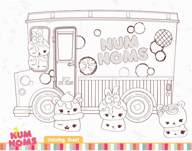 num noms coloring pages and activities