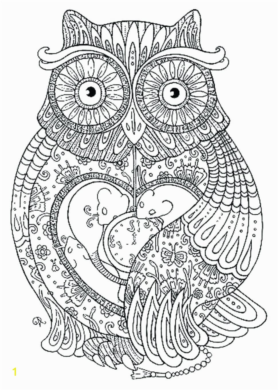owl mandala printable
