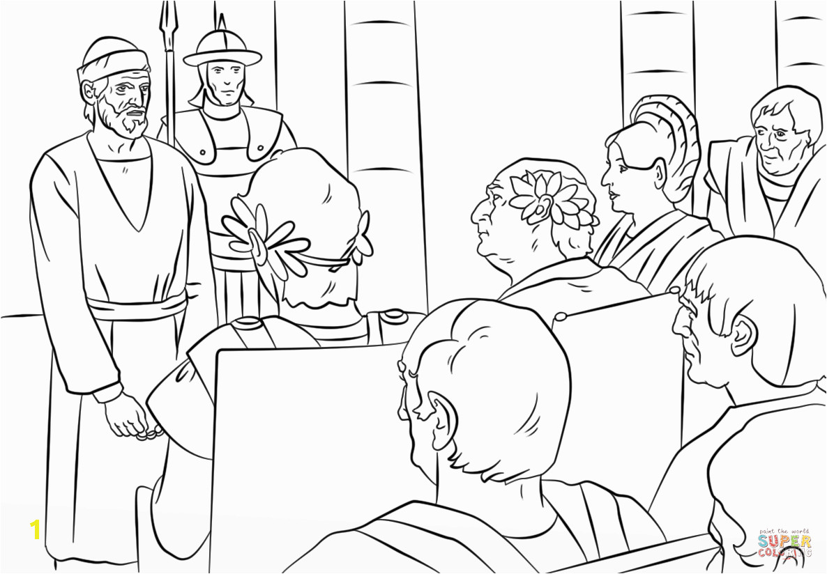 paul in athens coloring pages sketch templates