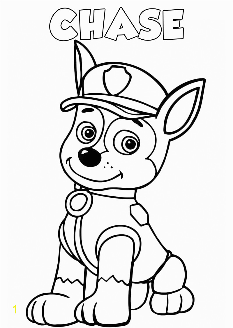 paww patrol coloring pages