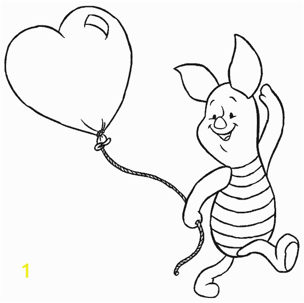 7 winnie pooh coloring pages piglet