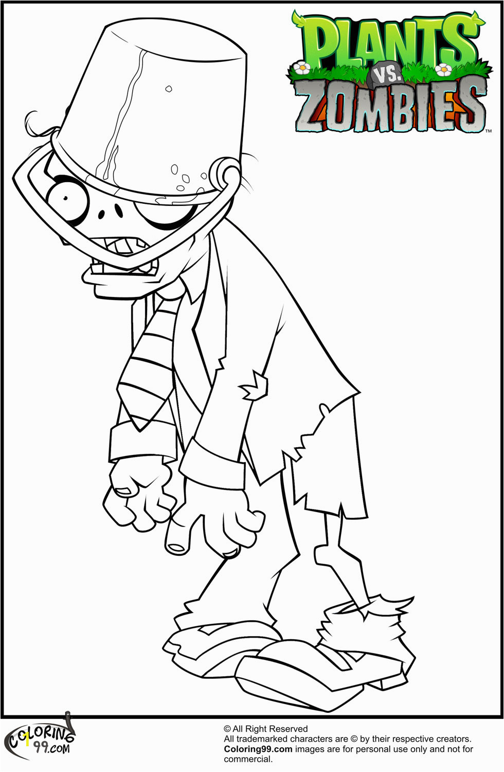 Plants Vs Zombies 2 Coloring Pages Plants Vs Zombies Garden Warfare 2 Free Coloring Pages