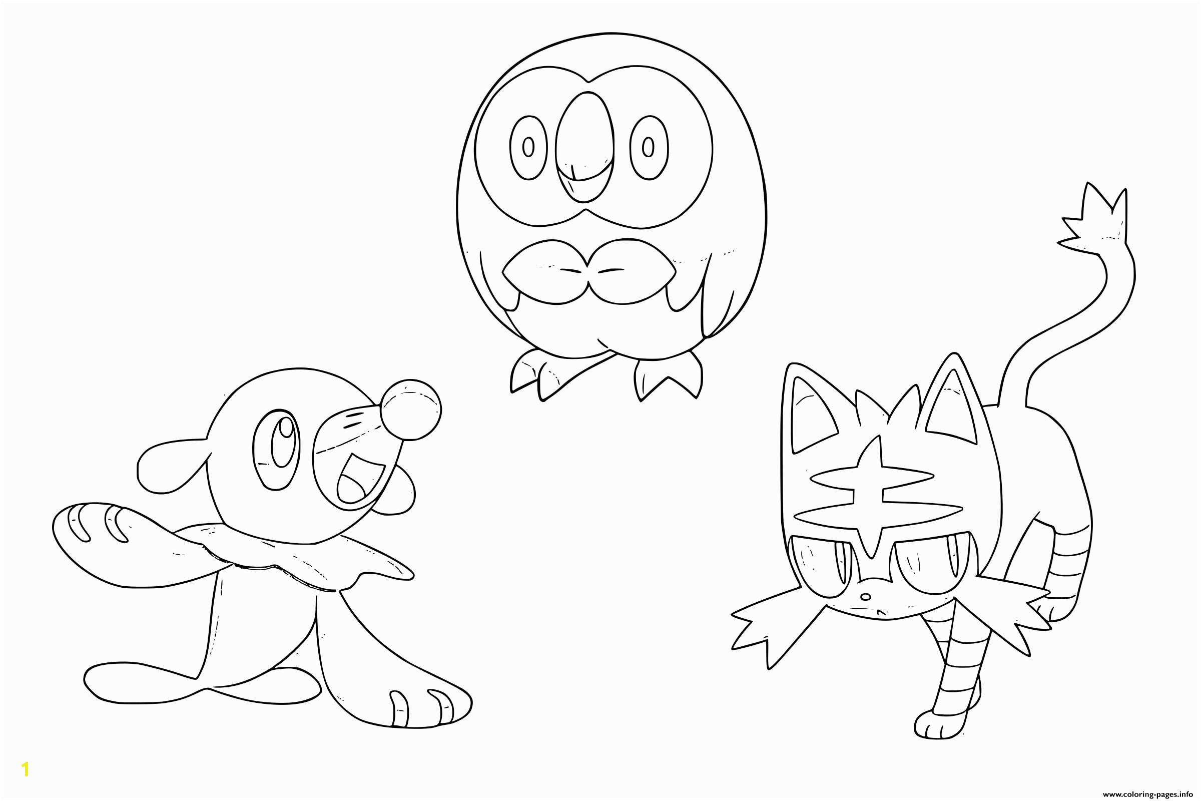 sun and moon pokemon